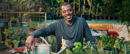 Ron Finley's gardening MasterClass will teach you how to grow food ; change your life